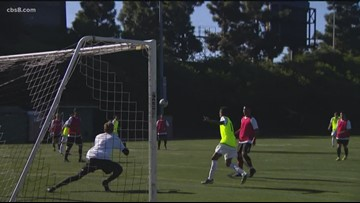 San Diego Loyal soccer team holds open tryouts