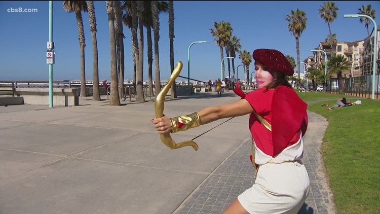 Jenny plays 'Cupid' and asks San Diegans the important questions before Valentine's Day