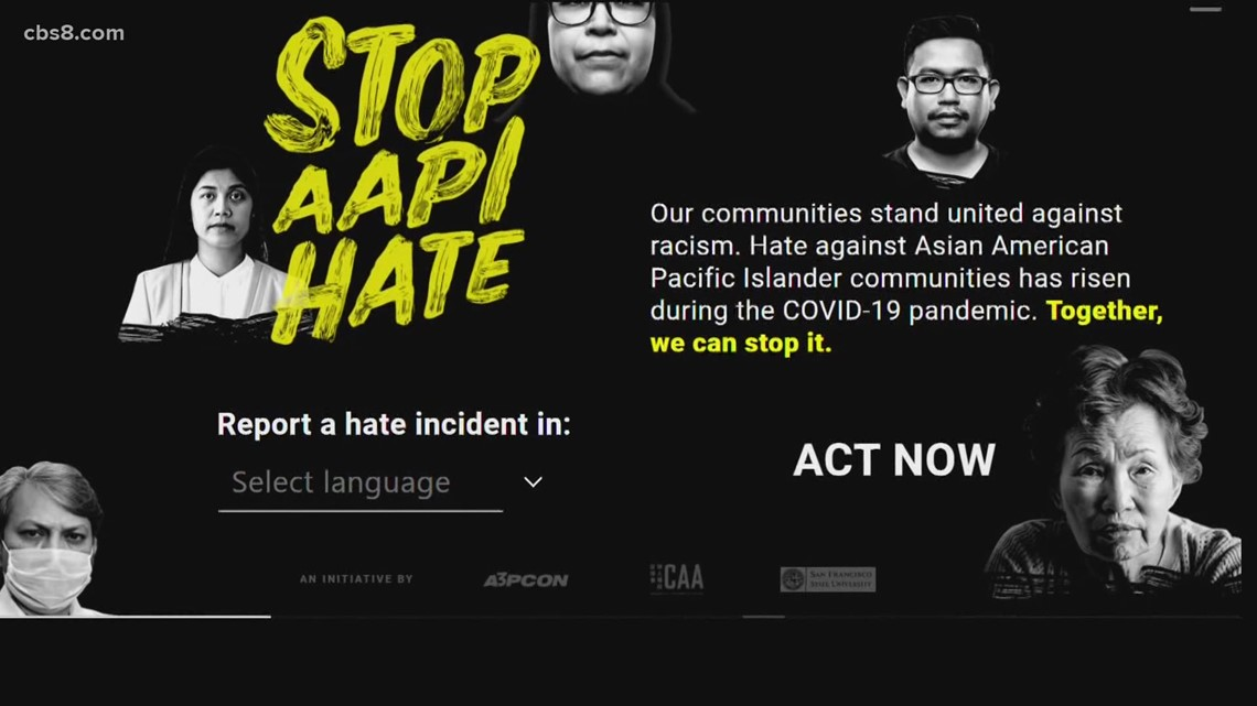 www.cbs8.com: Concerns grow over hate crimes against Asian Pacific Islanders