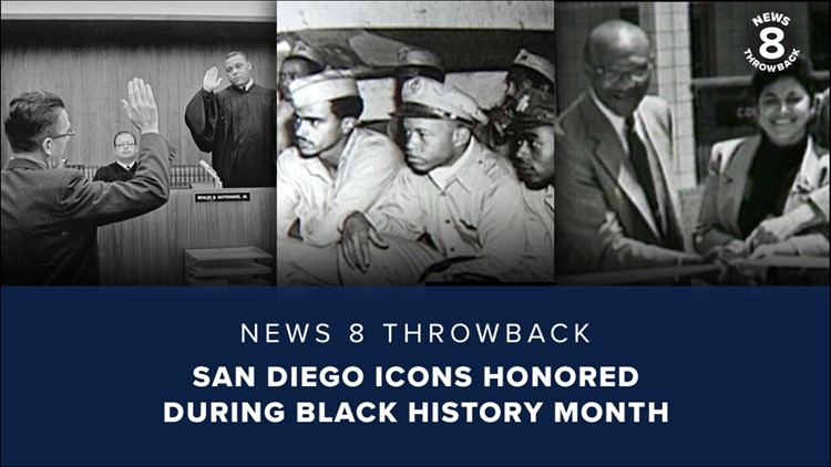 News 8 Throwback: San Diego icons honored during Black History Month
