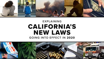 Explaining California's new laws going into effect in 2020