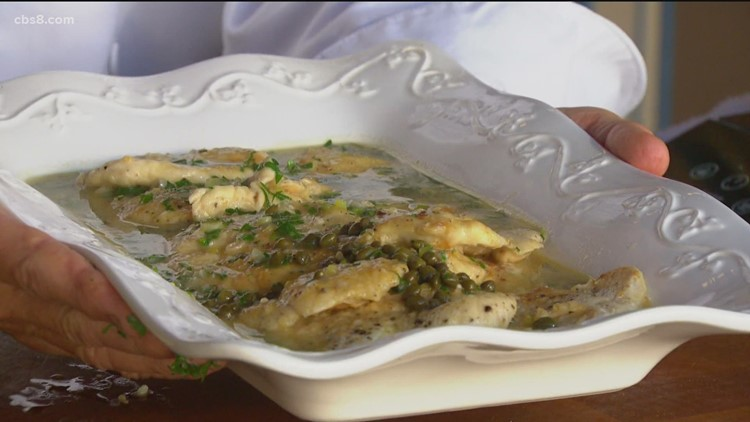 Cooking with Styles: Chicken Piccata