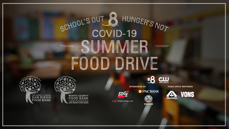 'School's Out, Hunger's Not' food drive