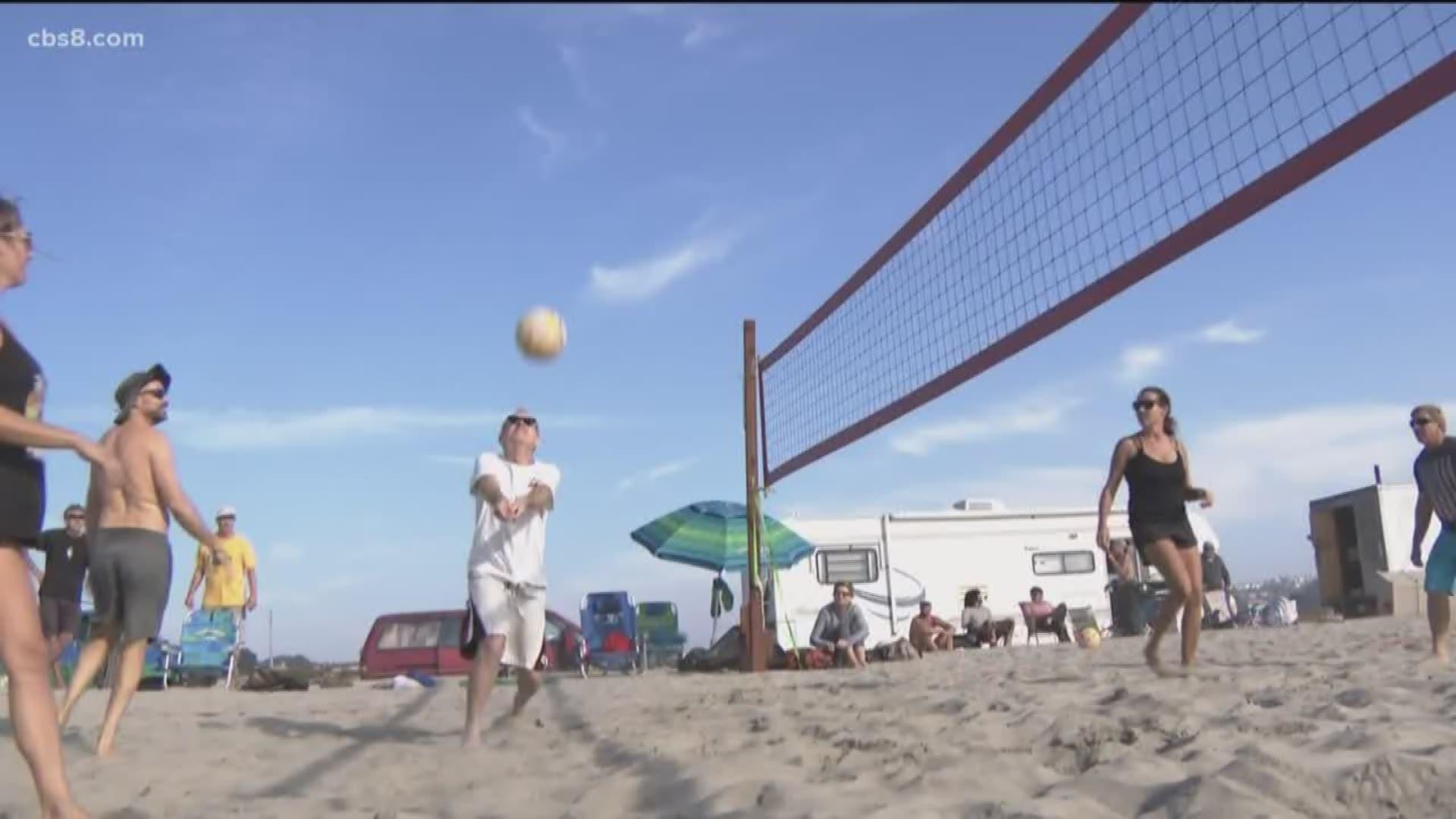 Carlsbad Volleyball Players Upset Over Park Plan Cbs8 Com
