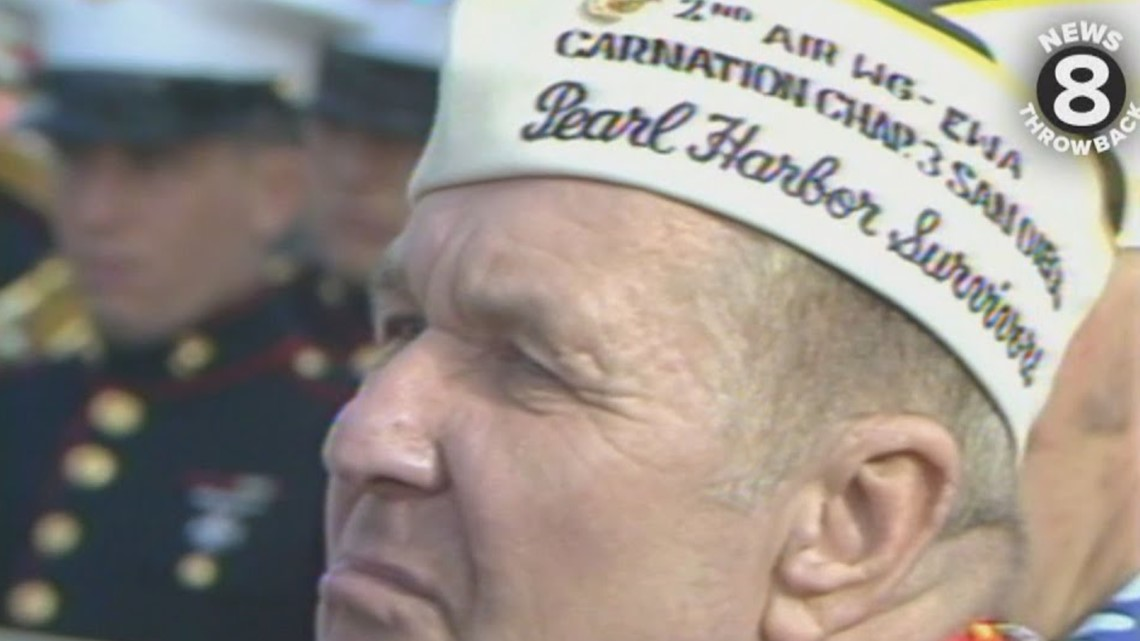Pearl Harbor survivors gather to remember in 1985