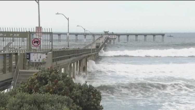 Earth 8: Ocean Beach pier shut down due to high surf