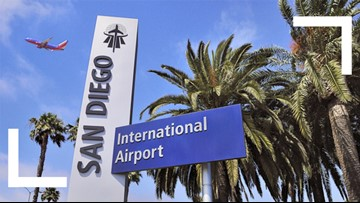 San Diego airport served 25 million passengers in 2019