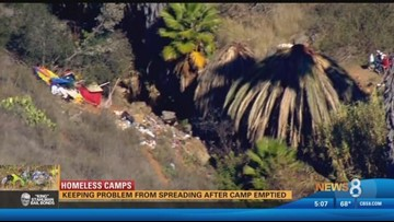 Homeless Camps: Keeping the problem from spreading after camp emptied