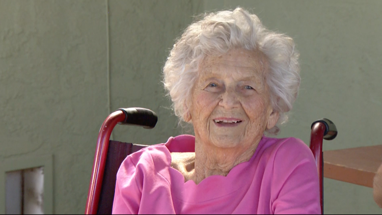 San Diego woman survived 1918 pandemic, prepares to celebrate her 106th Birthday!