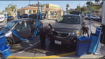 Get your free car wash at any Soapy Joe's in San Diego