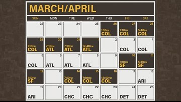 Padres Home Schedule 2020.San Diego Padres Release 2020 Regular Season Game Schedule