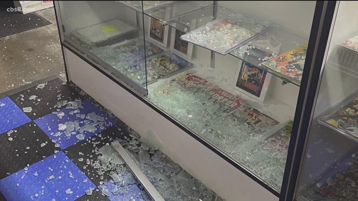 Kearny Mesa comic book store robbed
