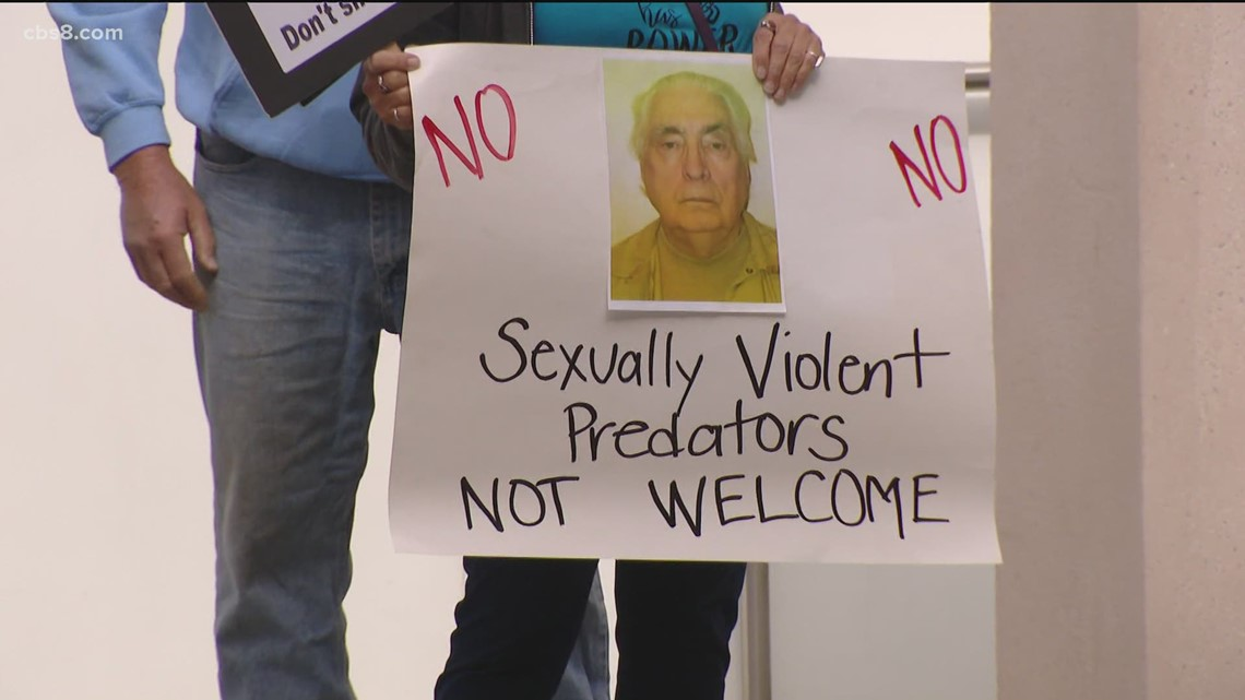 Community battle to keep sexually violent predator out of neighborhood goes before San Diego judge
