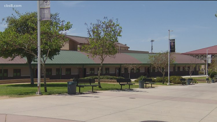 It's back to class for in-person learning at Sweetwater Union High School District campuses