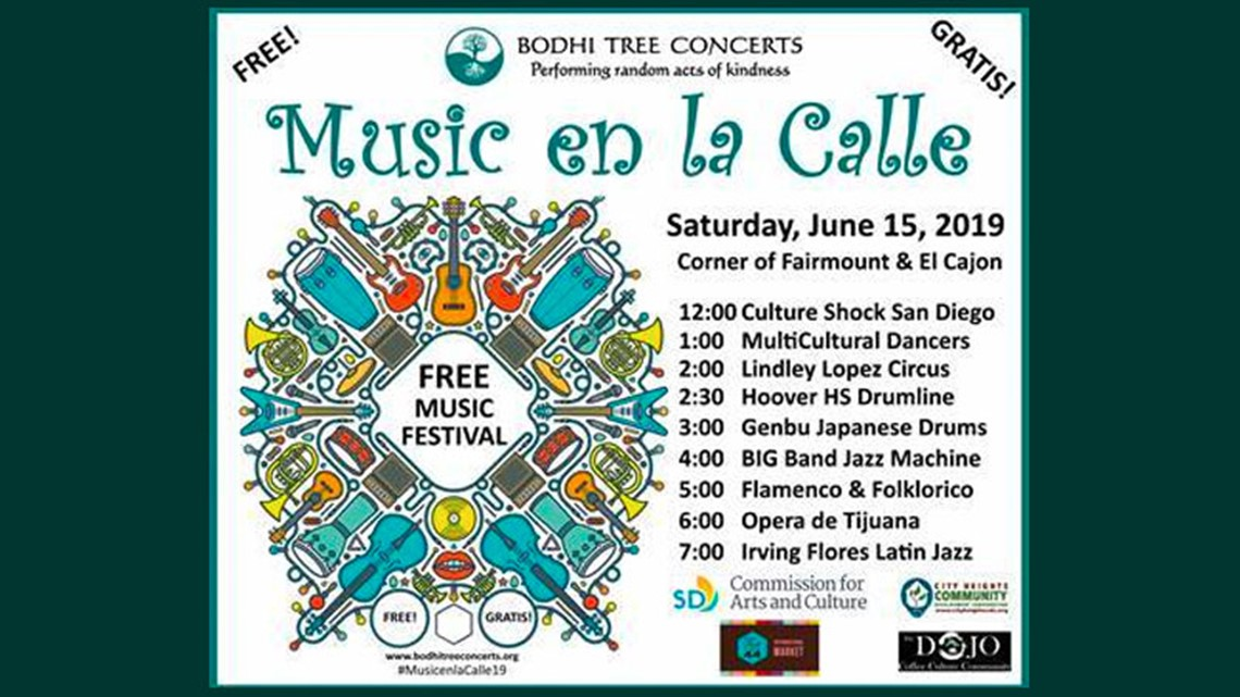 2nd Annual 'Music en la Calle': a FREE music festival on June 15