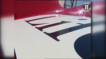 News 8's Steve Price takes to the San Diego skies in an Extra 300 ahead of 1999 Miramar Air Show