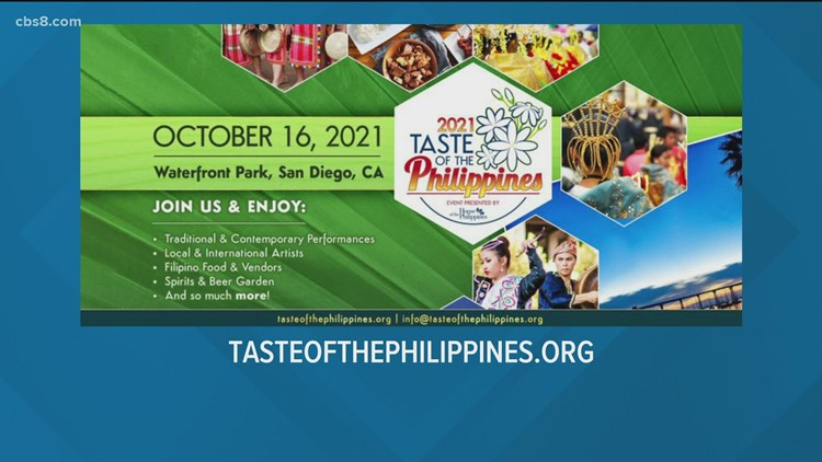 'Taste of the Philippines': a unique cultural experience to celebrate the Philippines, Filipino American arts, culture and history