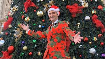 News 8 folks celebrating the holidays in San Diego