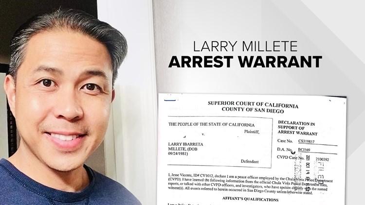New details from arrest warrant for Larry Millete, husband of missing Chula Vista mother Maya Millete