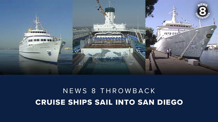 News 8 Throwback: Cruise ships sail into San Diego