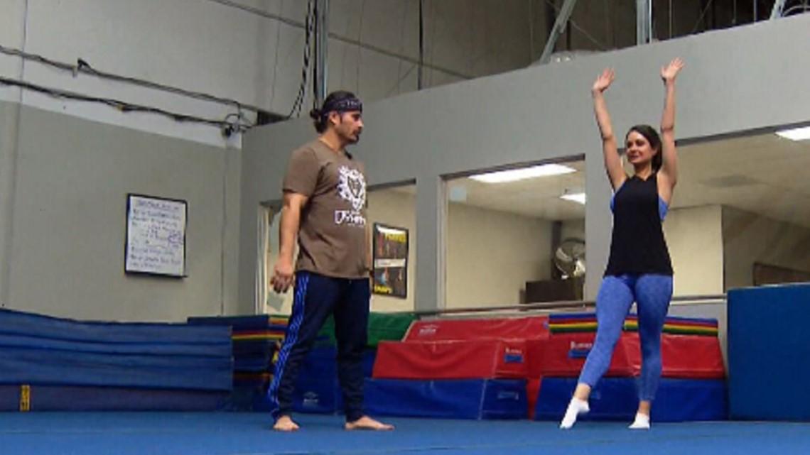 Gas Prices San Diego >> Milkin' San Diego: Jenny does gymnastics at Deleon ...