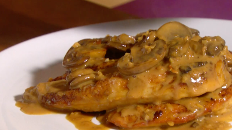 Cooking with Styles: Chicken Marsala