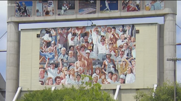 Local group aiming to save popular mural at SDCCU Stadium