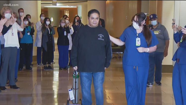 Chula Vista E.R. nurse hospitalized with COVID released from hospital