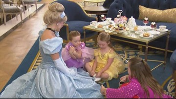 Attend a princess tea party at The Westgate Hotel