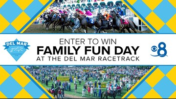 Celebrate 'Family Fun Day' with CBS 8 and The Del Mar Thoroughbred Club