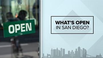 What is open in San Diego amid coronavirus outbreak, public health order