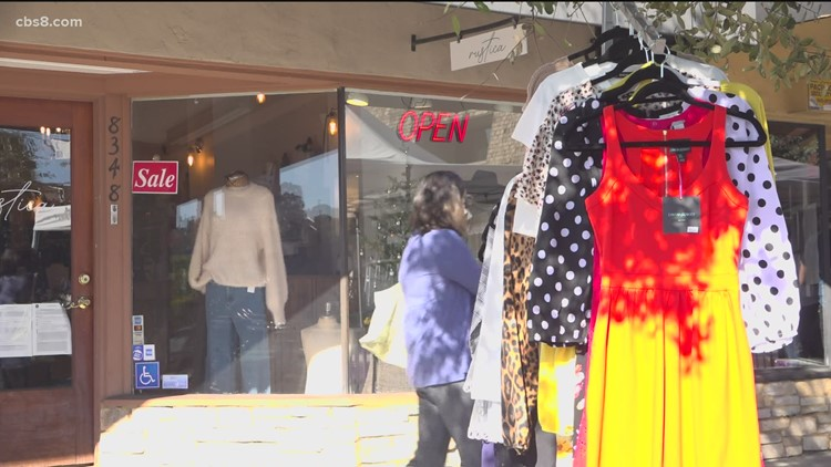 La Mesa businesses thankful for shopping small