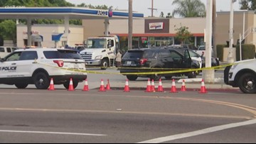 Man, woman arrested in fatal stabbing outside Carlsbad gas station
