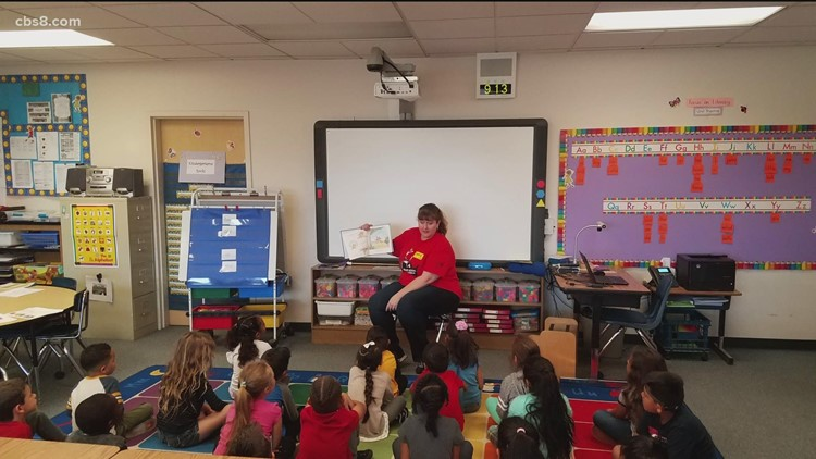 United Way of San Diego celebrated National Read Across America Day