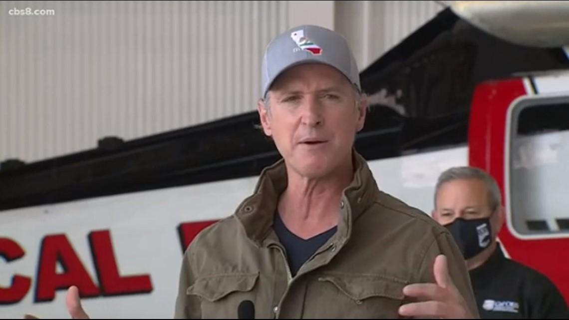 Gov. Newsom highlights his $2 billion proposal in wildfire preparedness