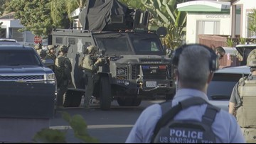 Suspect arrested after SWAT standoff at mobile home park in Spring Valley