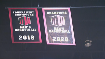 San Diego State raises conference championship banner before Saturday's game