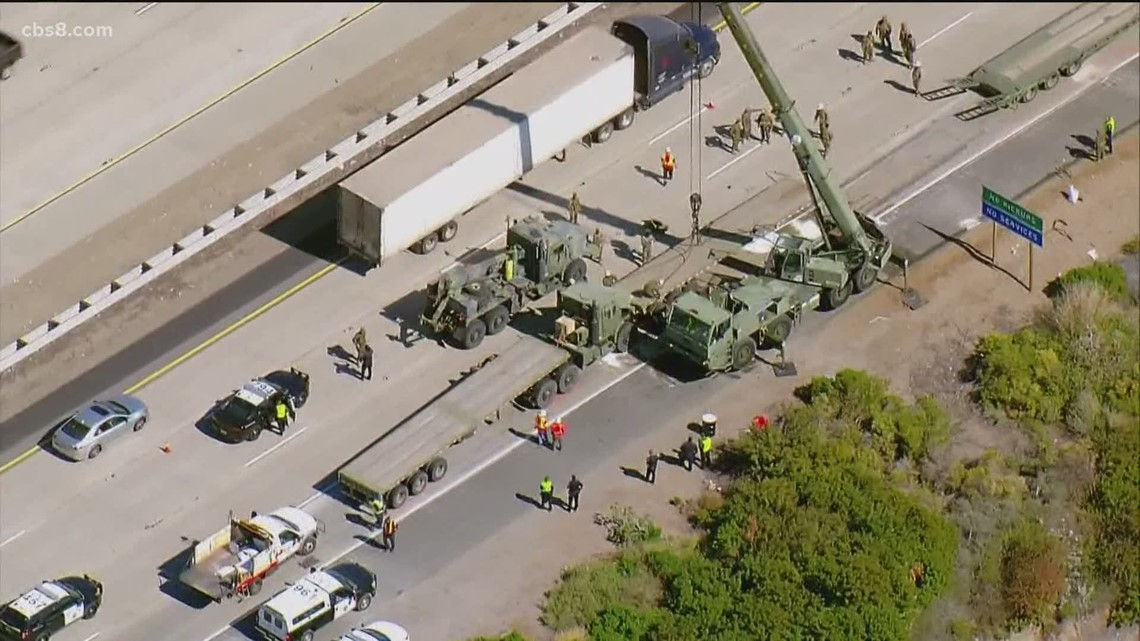 Serviceman killed, 5 other Navy personnel injured in convoy accident near Camp Pendleton