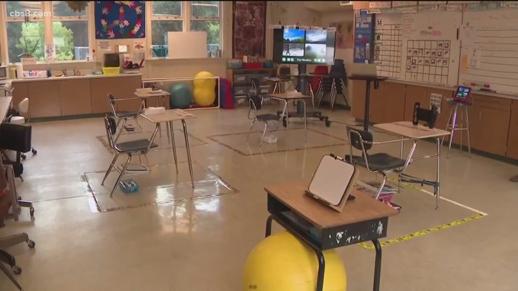 Ca Education Leaders New Guidelines For Safe Reopening Of Schools Cbs8 Com