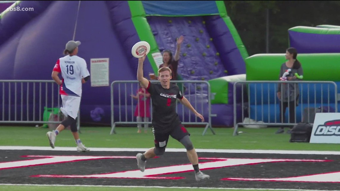 Yes, San Diego has a professional frisbee franchise