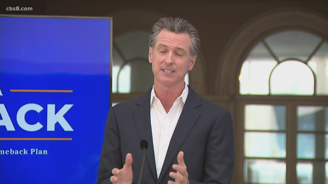 Gov. Newsom announces 6 'Dream Vacation' packages to extend 'Vax for the Win' program