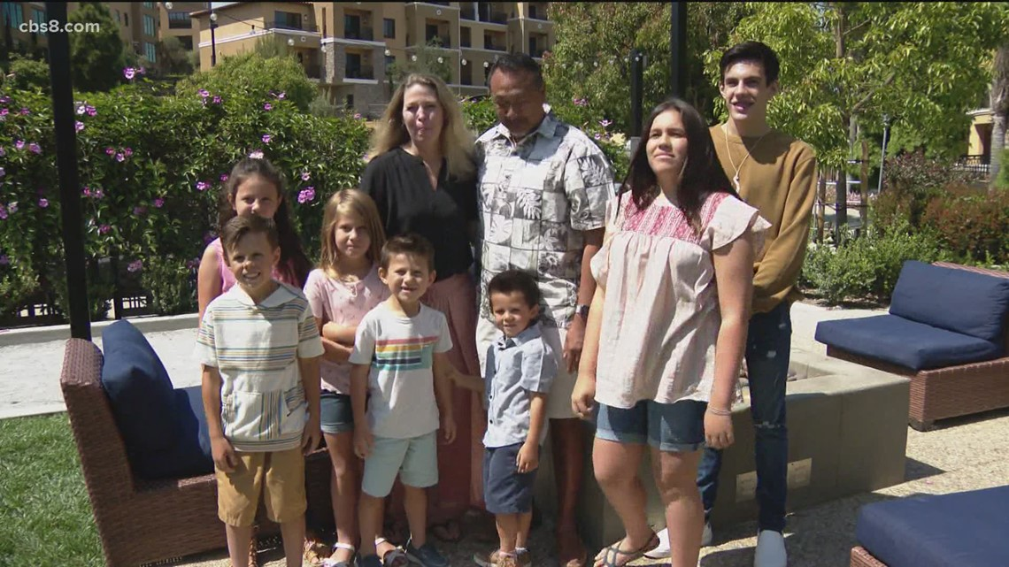 7 siblings who survived a crash which killed their parents celebrate first Mother's Day with new forever family