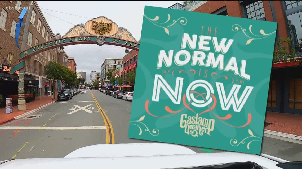 Out and About: New Normal is Now campaign in the Gaslamp