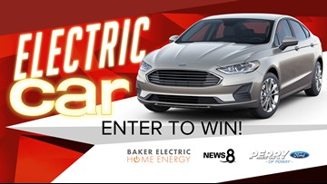 Electric car giveaway from Baker Electric Home Energy | cbs8 com