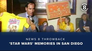 News 8 Throwback: 'Star Wars' memories in San Diego