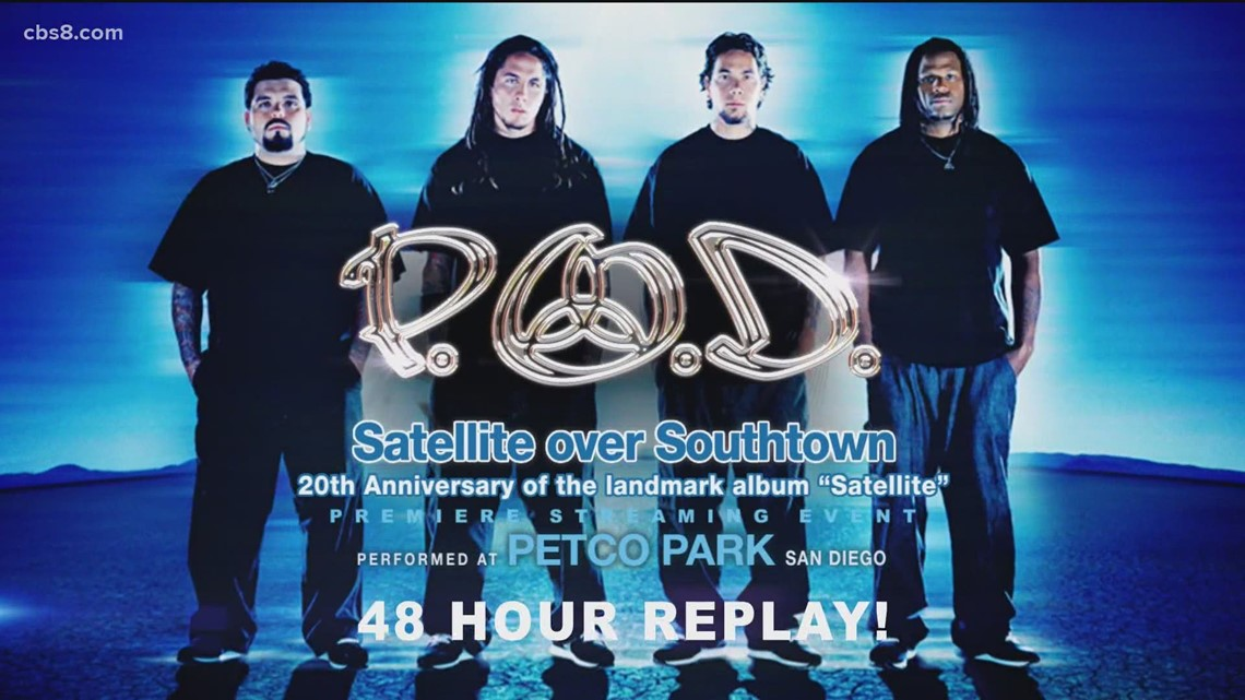 P.O.D holding Satellite Over Southtown streaming event on Thursday to commemorate 20th Anniversary
