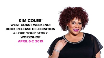 Comedian, actress, author and speaker Kim Coles in San Diego for her book release & workshop