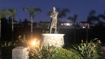 Renewed calls to remove Columbus statue in Chula Vista park