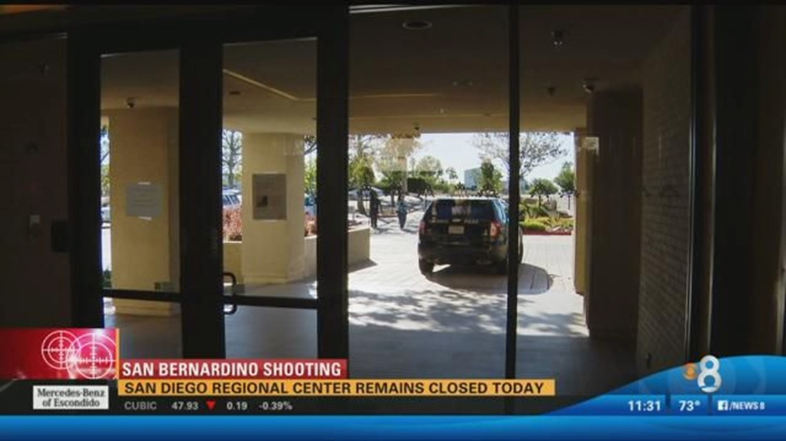 San Diego Regional Center remains closed Thursday