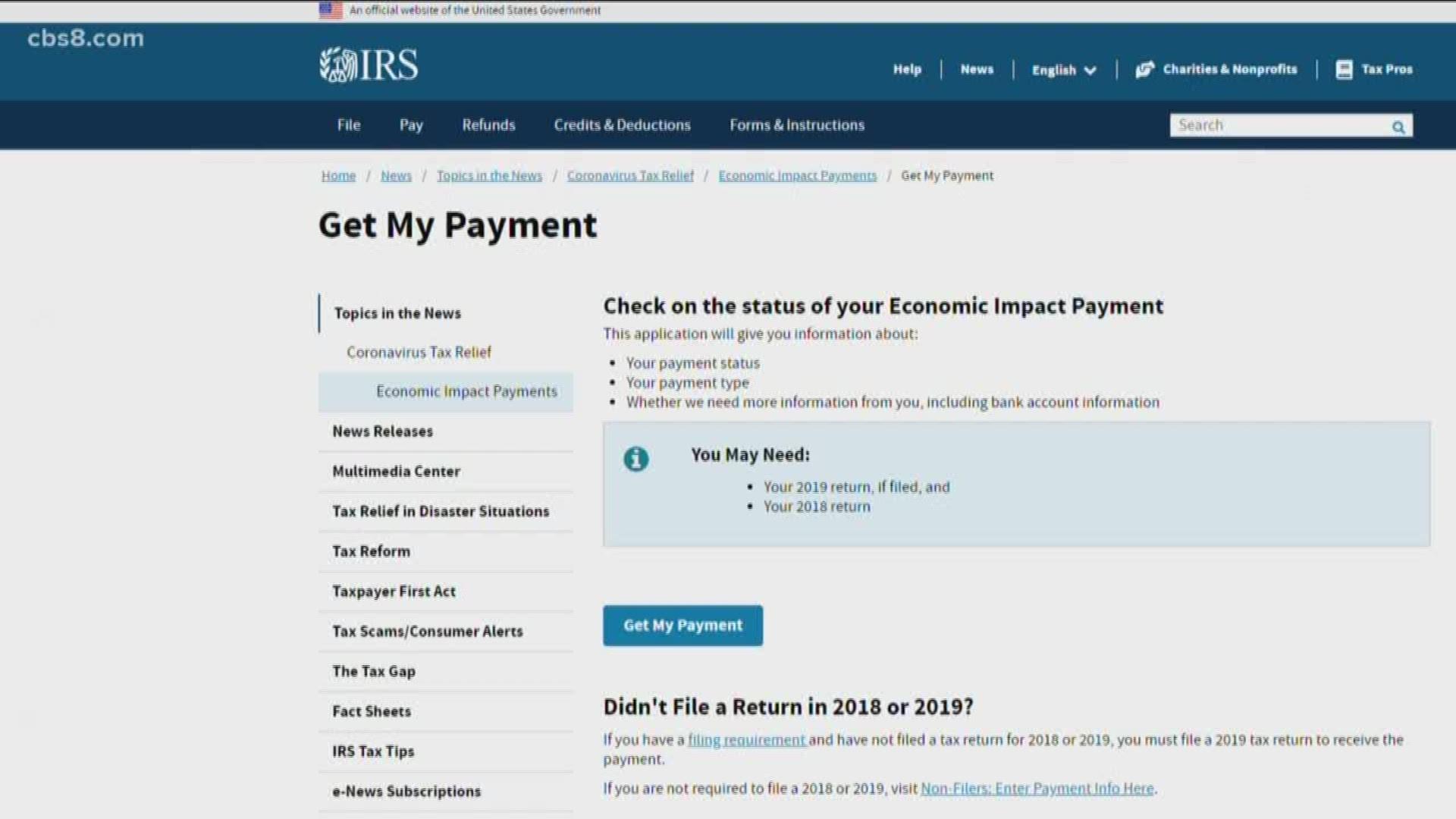Irs Gov Stimulus Check Tracking System